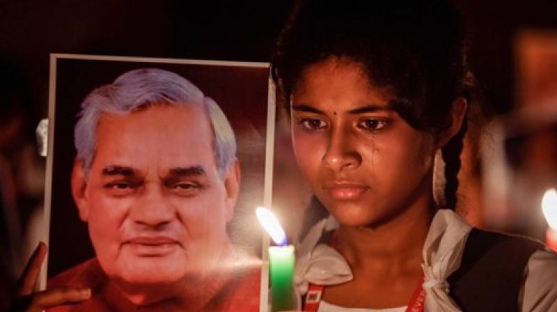 Former prime minister Atal Bihari Vajpayee died on Thursday, August 18. (Photo: PTI)