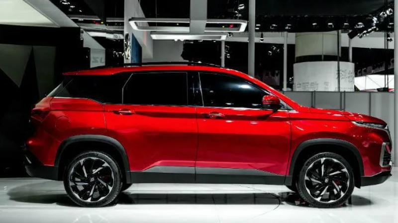 The MG Hector petrol AT variant could also be offered with paddle shifters behind the steering wheel and a 'Sport' mode to make it feel sportier.