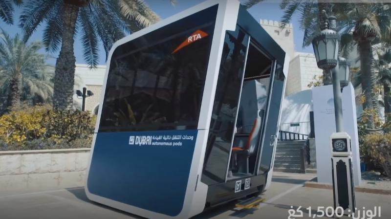 """""""The goal is to develop these two research vehicles,"""" Khaled al-Awadhi, director of Automated Collection Systems at the RTA, said."""