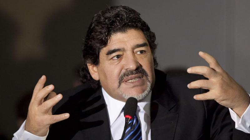 Initial reviews were mixed with critics saying the film, which draws on Maradona's personal stock of video, showed colourful scenes but pulled its punches. (Photo: AFP)
