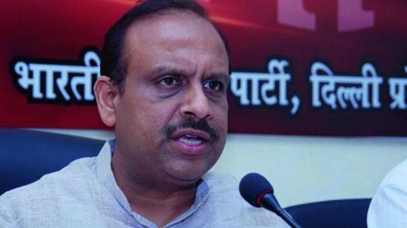 Leader of the Opposition Vijender Gupta