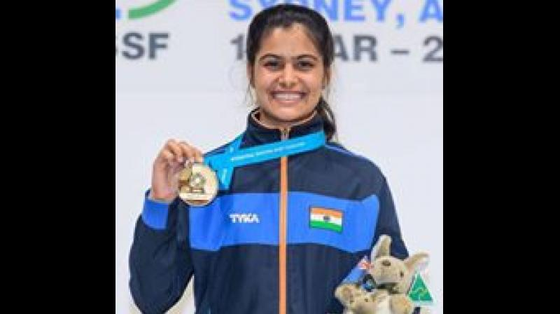 Manu Bhaker had a phenomenal year in 2018 as she won Commonwealth Games gold medal in Gold Coast, a month after winning gold in 10m air pistol individual and team events at the ISSF World Cup in Guadalajara.(Photo: Facebook | Manu Bhaker)