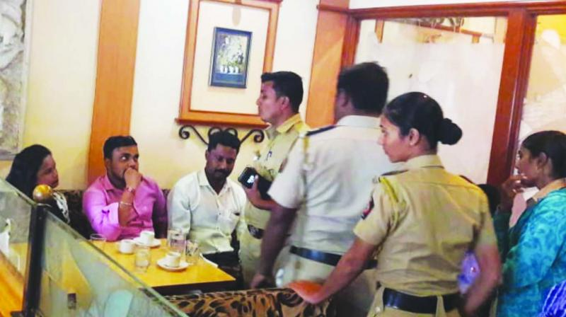 The accused demanded Rs 2 lakh from the doctor.