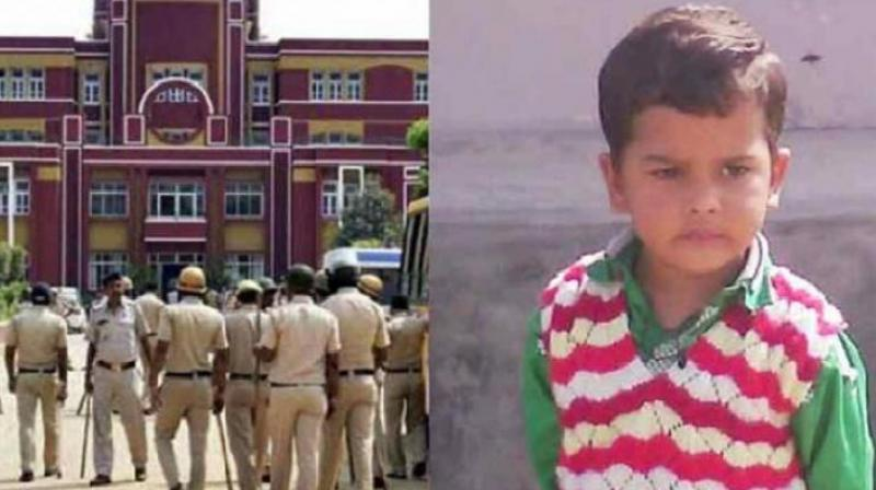 Pradyuman was found murdered a short while later in the washroom of the school, shattering Mr Thakur's world and the trust of parents across the country who believe that school is a refuge as much as home is. (Photo: PTI)