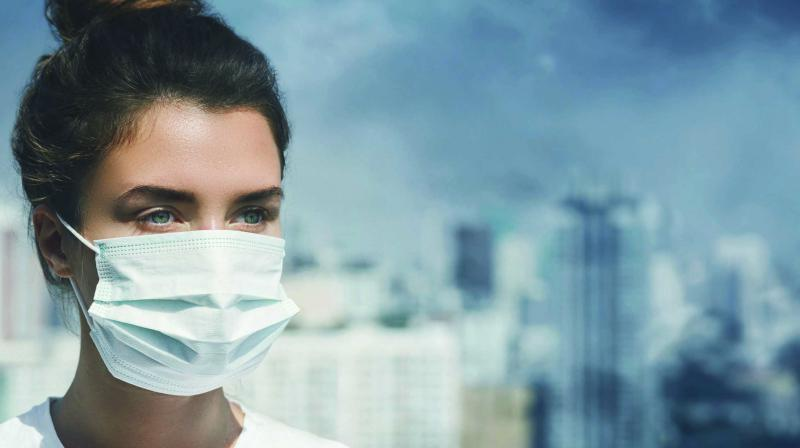 The impact of air pollution on the skin is also known as 'polluaging'.