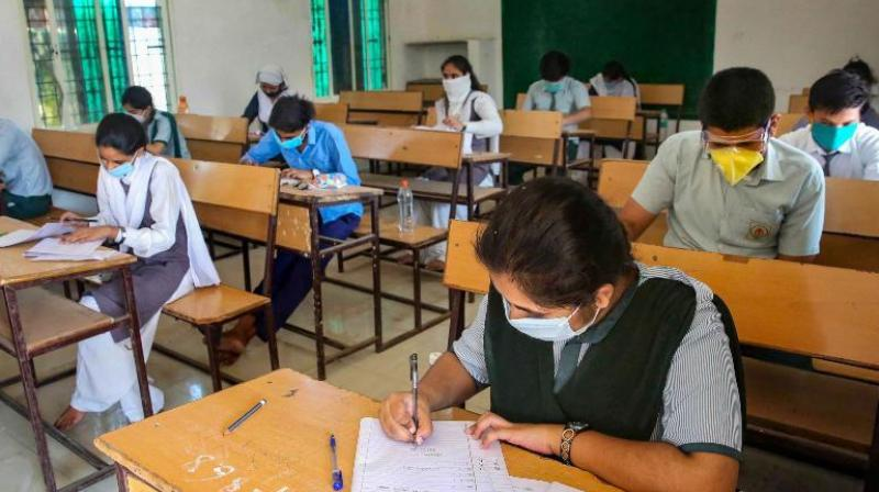 The state government said it will tentatively hold the Class 12 examination in the last week of July and the time table would be issued shortly. (PTI Photo)