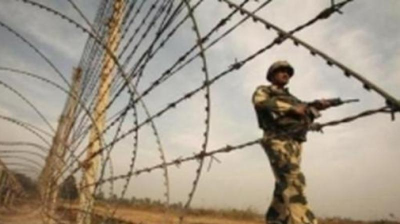 Yakub, a resident of Kamalia village in Tobha Tek Singh district in Pakistan, was found to be roaming under suspicious circumstances on Friday night near Border Out Post (BOP) Donald Rai Dina Nath and was arrested by Border Security Force (BSF) personnel. (Photo: ANI I Representational)