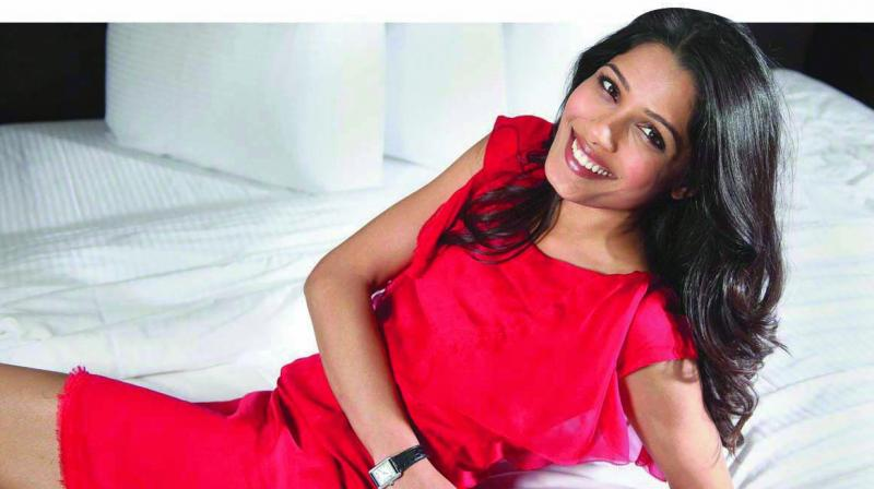 Freida Pinto, who acts in Love Sonia, a film