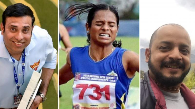 Touted to be 'Asia's first and largest ever sports literary festival', the event will bring together some of the biggest names from the Indian and international sports fraternity like sprinter Dutee Chand, former cricketer VVS Laxman, Murali Kartik, Monty Panesar, and discus thrower Krishna Poonia among others. (Photo:Twitter)