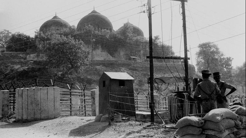 File photo of Babri Masjid in Ayodhya (Photo: PTI)
