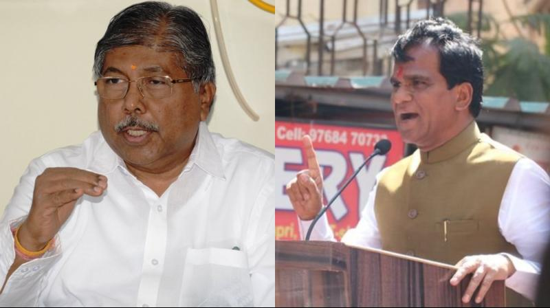Chandrakant is the Cabinet Minister for Revenue, Public Works Department (Excluding Undertakings) in the Maharashtra Government. (Photo: Twitter | @ChDadaPatil | ANI)