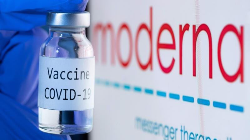 US firm Moderna said it would file requests for emergency authorization of its Covid-19 vaccine in the United States and Europe on November 30, 2020, after full results confirmed a high efficacy estimated at 94.1 percent. (AFP)