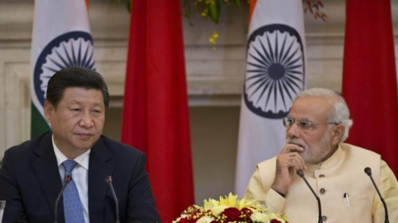 Prime Minister Narendra Modi with his Chinese counterpart Xi Jinping. (Photo: AP)