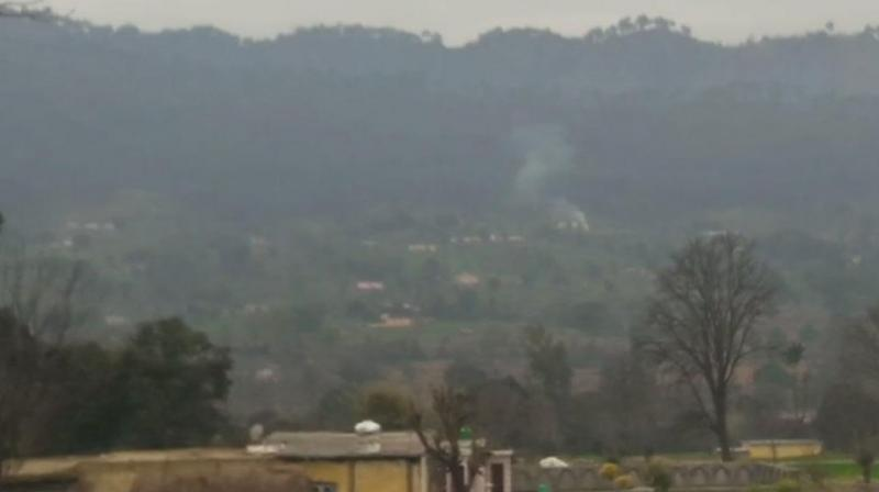 At around 5.30 pm, Pakistan initiated heavy shelling with mortars and also fired using small arms along LoC in Akhnoor, Nowshera and Krishna Ghati Sectors. (Photo: ANI | Twitter)