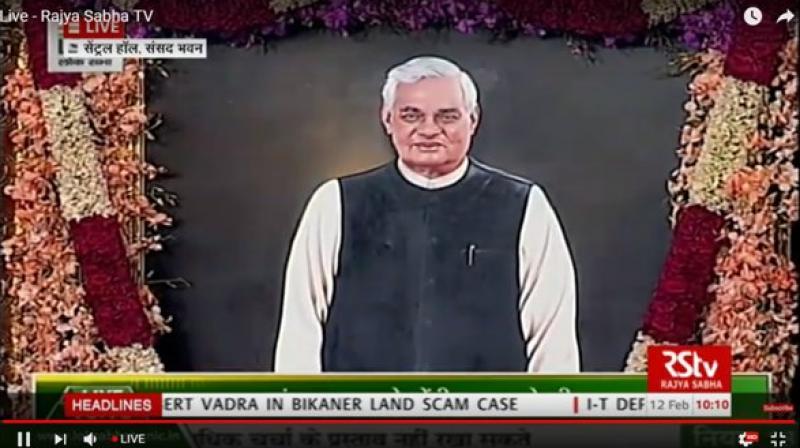 Vice President M Venkaiah Naidu said Vajpayee had 'virtually no enemies'. (Photo: ANI | Twitter)