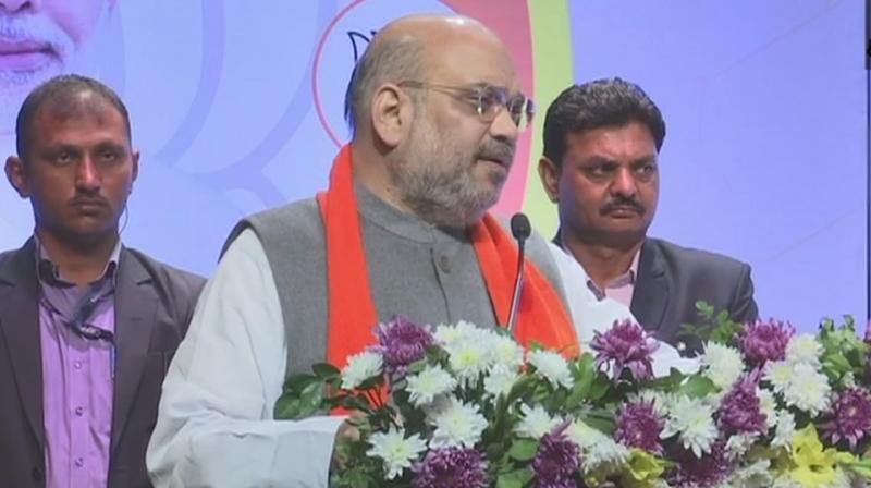 He sought to know from the opposition parties who was their prime ministerial face and the leader of their proposed grand alliance. (Photo: ANI | Twitter)
