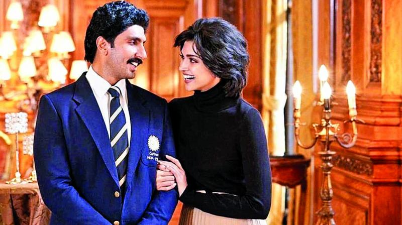 Sharing a still from the movie '83, in which she is playing Romi Dev to Ranveer Singh's Kapil Dev, the actress found herself a subject of online trolling.