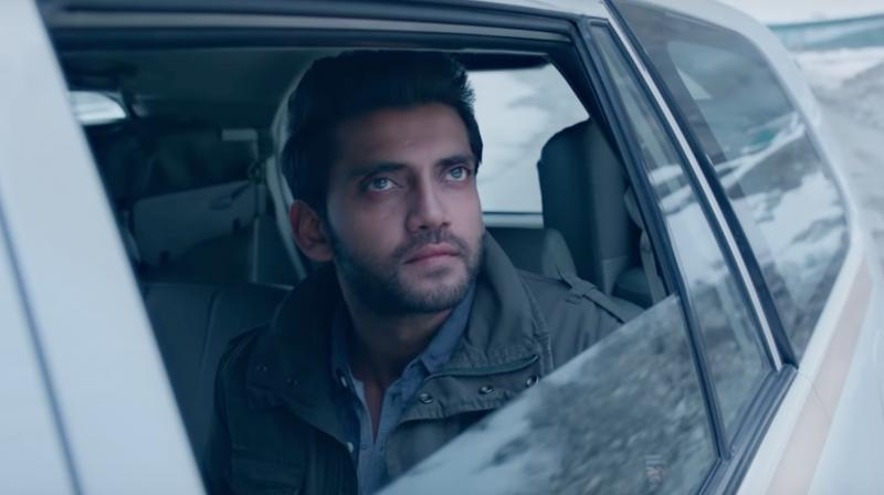 Screengrab of Safar song featuring Zaheer Iqbal. (Courtesy: YouTube/T-Series)