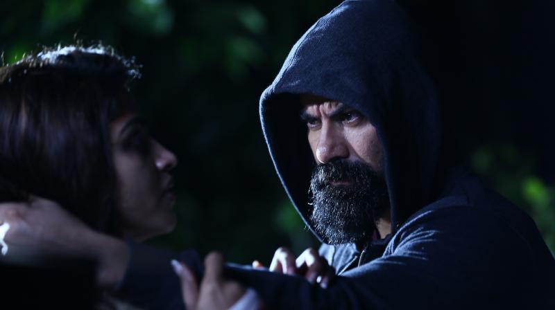 A still from Udgarsha movie.