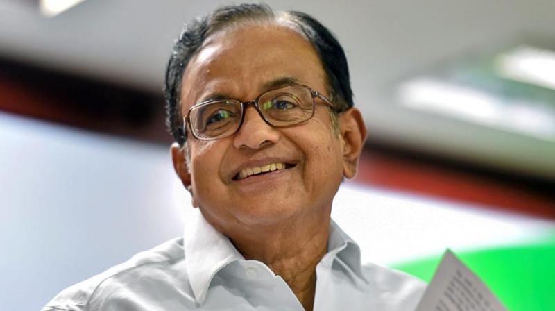 Senior Congress leader and former Union Minister P. Chidambaram (Photo: PTI)