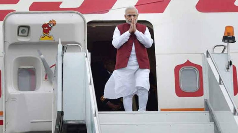 The PMO told the applicant that the information about the prime minister's foreign visits and expenses incurred is available on its website. (Photo: PTI/File)