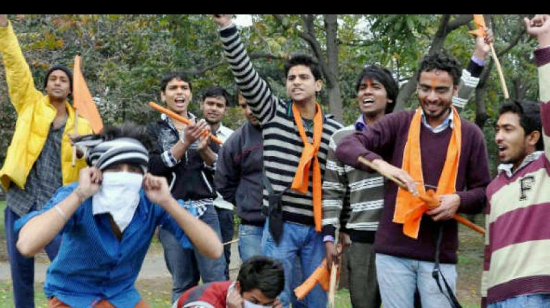 Bajrang Dal members Sunday said they will marry off boys and girls seen together at parks. (Representational Image)