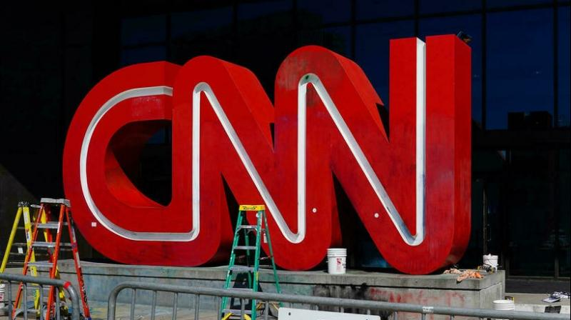 CNN President Jeff Zucker in his memo did not specify the fired employees' names, positions or office locations. (AFP Photo)