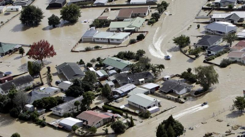 New Zealand has been drenched in recent days by the remnants of Cyclone Debbie, which flooded parts of Australia's east coast last week. (Photo: AP)