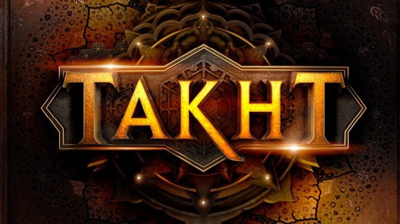 The first official look and logo of Karan Johar's 'Takht'.
