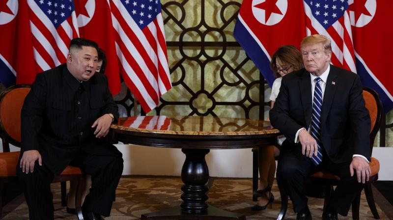 The two men who once traded personal insults and threats of destruction are holding their second meeting in eight months, with analysts warning it needs to produce more concrete progress than their initial historic get-together in Singapore. (Photo: AP)