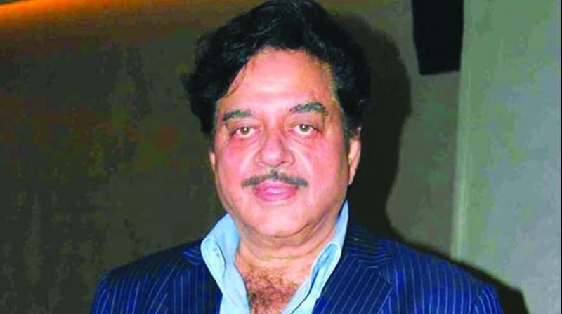 Congress leader Shatrughan Sinha (Photo: File)