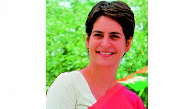 During the meeting when a leader suggested that Priyanka Gandhi Vadra take the reigns to become the next party president, she discouraged the suggestion and asked not to drag her into the matter. (Photo: File)