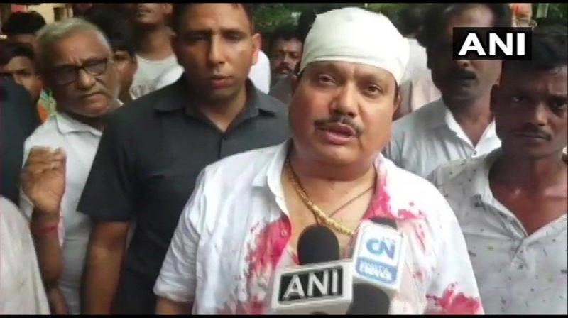 BJP MP of Barrackpore Arjun Singh (Photo: ANI)