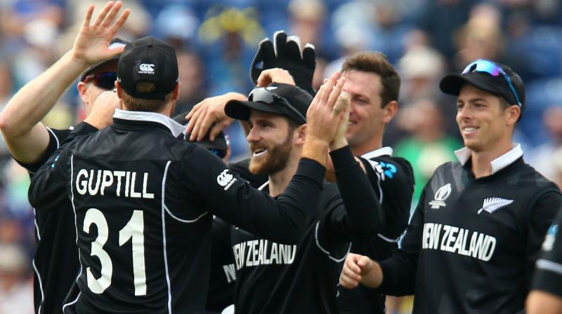 New Zealand takes on Bangladesh in a World Cup match on June 5 at the Oval. (Photo: AFP)