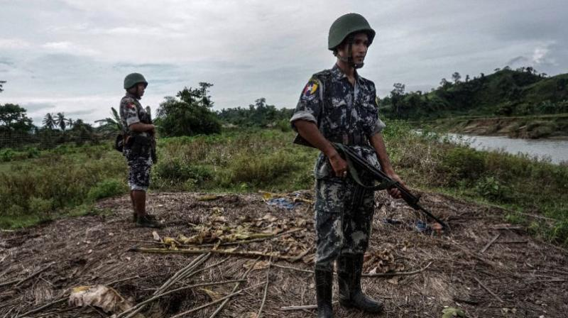 The northern wedge of Rakhine closest to Bangladesh has been in lockdown since October 2016 deadly attacks by militants on border posts sparked a military response that left scores dead and forced tens of thousands to flee (Photo: AFP)