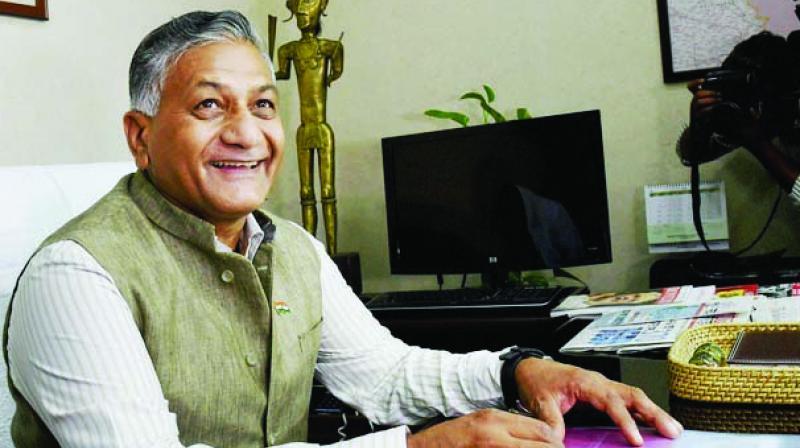 V.K. Singh (Photo: PTI)
