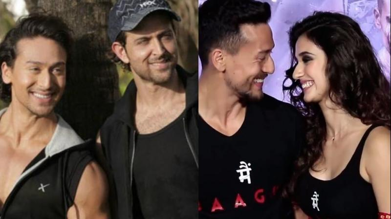 Tiger Shroff became the common point in the controversy as both Hrithik Roshan and Disha Patani are close to him.