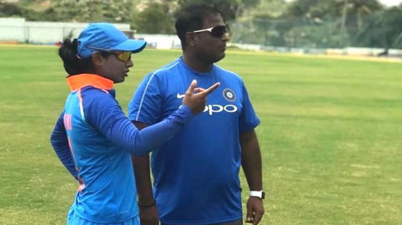 Powar in his ten-page tour report entirely focussed on the 35-year-old batter, which came a day after Mithali's letter accusing him and Committee of Administrators (CoA) member Diana Edulji of discrimination. (Photo: BCCI)