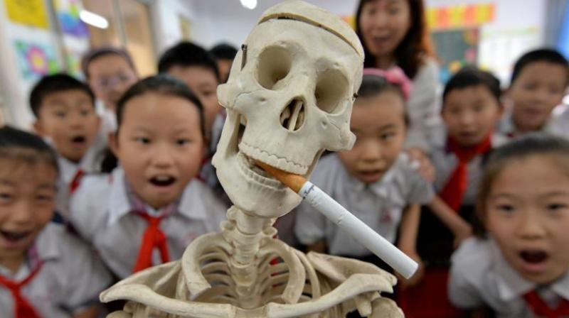 Governments spent less than $1 billion on tobacco control in 2013-2014, according to a WHO estimate (Photo: AFP)