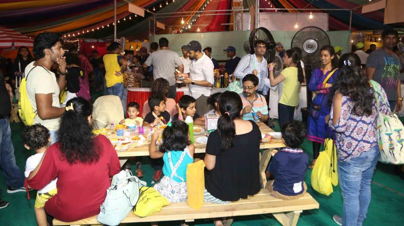 Zianne, Zara, Zeus Irani celebrity kids of Bakhtiyaar Irani and Tanaaz Irani also enjoyed the Karnival along with others.