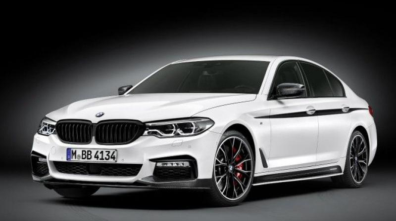 Bmw M Performance Package Revealed For All New 5 Series