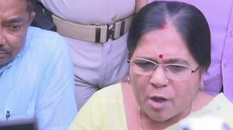 Manju's resignation came a couple of days after Bihar Chief Minister Nitish Kumar assured that the culprits involved in the alleged incident would not be spared (Photo: Twitter | ANI)