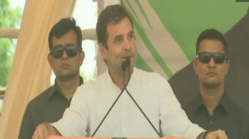 Will rain make aircraft disappear in India?: Rahul's dig at PM Modi