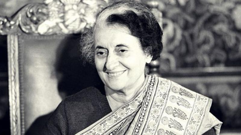 Former Prime Minister late Indira Gandhi. (Photo: PTI)