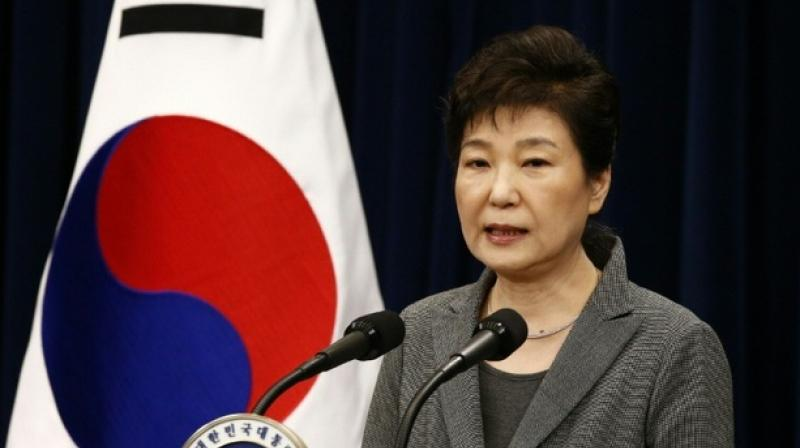 South Korean President Park Geun-Hye. (Photo: AFP)
