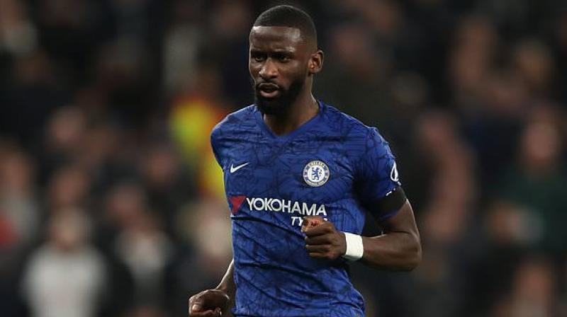 Antonio Rudiger, the German international defender who was subject to a stream of monkey chants in Chelsea's Premier League win over Tottenham, said he wants the culprits caught and punished. (Photo:Twitter)