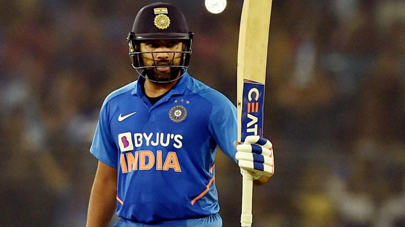 Not being able to win the ODI World Cup is Rohit Sharma's sole regret in a phenomenal 2019 during which he 'understood' his batting better than ever. (Photo:PTI)