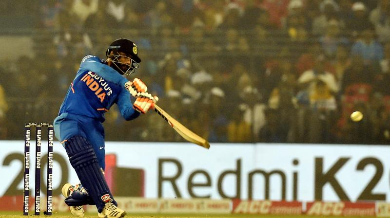 The unbeaten 39 in a high-scoring series-decider earned him plaudits but for India all-rounder Ravindra Jadeja, it was more about proving a point to himself rather than the world that he is still a good enough player in limited-overs format. (Photo:PTI)