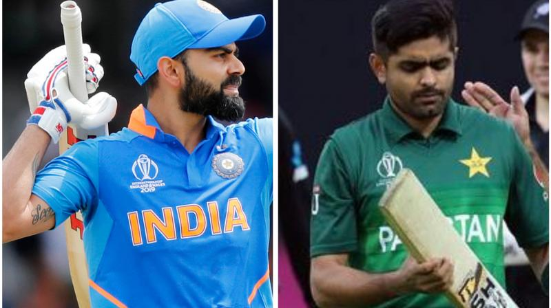Former cricketer Shoaib Akhtar on Sunday advised Babra Azam's Pakistan cricket team to follow Virat Kohli's style of leading the side and should look to create a roadmap to get better than the Indian side. (Photo:AFP/AP)