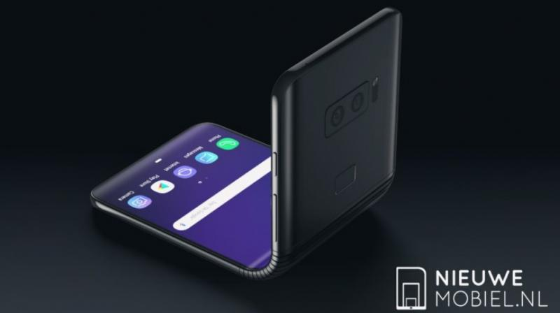 The overall design when unfolded resembles a regular Galaxy S flagship. (Representaional photo: NieuweMobiel.nl)